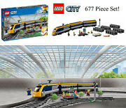 Lego City Passenger Train Set Build And Drive Aaa Battery Powered 60197 Playset