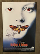 Jodie Foster Signed/autographed 12x18 Photo The Silent Of The Lambs Jsa/coa