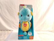 New Fisher Price Soothe And Glow Glo Blue Seahorse Plush Baby Toy Boy Or Girl