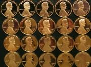 19751995 S Lincoln Penny Choice Gem Proof Run 21 Coin Decade Set Us Mint Lot