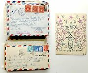 Doda Conrad / 73 Letters And Cards 1950-1963 To One Of His Closest Friends Music