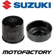 Genuine Oil Filter And Removal Tool Suzuki M109r Boulevard Limited Edition 2009-14