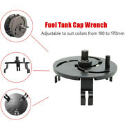 3 Jaw Adjustable Car Fuel Tank Lid Wrench Tool Remove Oil Cover Pump Cap Spanner