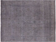 9and039 9 X 12and039 6 Overdyed Hand Knotted Rug - Q4412