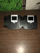 Lot Of 12 Aastra 6725ip Ip Color Display Phone Missing Two Headsets