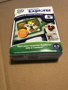 Leapfrog Leapster Explorer Camera And Video Recorder - 4-9 Years New