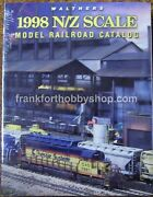 Walthers 913-625 1998 N Model Railroad Reference Book / Catalog New