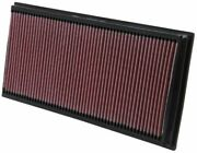 Kandn 33-2857 For Volkswagen Touareg Performance Washable Drop In Panel Air Filter