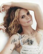Heidi Klum Signed 8x10 Photo - Uacc And Aftal Rd Autograph With Heidi's Own Seal