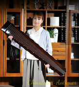 48 Professional Guqin Chinese 7-stringed Zither Instrument - Luoxia Style 2819
