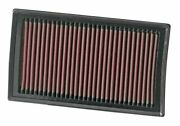 Kandn 33-2927 For Renault Clio Mk 3 Performance Washable Drop In Panel Air Filter