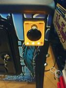 Orange Lighted Shooter Rod Plate Creature From The Black Lagoon Led Pinball Mod