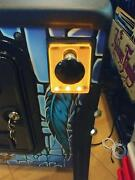 Orange Lighted Shooter Rod Plate Cover For Taxi Pinball Machine Led Mod