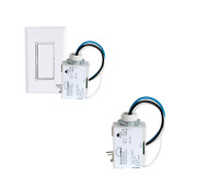 Three Way - Basic Wireless Light Switch And 2 Relays - No Batteries Needed