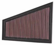 Kandn 33-2393 For Ford S-max Mk 1 Performance Washable Drop In Panel Air Filter