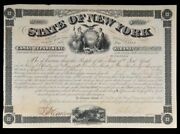 State Of New York Canal Dept. Bond