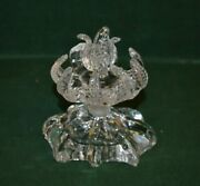 Very Ornate Antique Czech Crystal Perfume Bottle Decanter