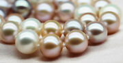 Huge 1812-14mm Natural South Sea Genuine White Gold Pink Pearl Necklace Aaa