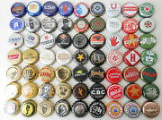 Eclectic, Diverse, Variety Of Beer Bottle Caps 3
