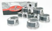 1967-1990 Buick Chevy Old Pontiac Cars 350 5.7l V8 Sbc- 8 Pistons And Moly Rings