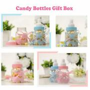 Baby Feeder Candy Bottles Gift Box For Girl Boy Baby Shower Party Christening