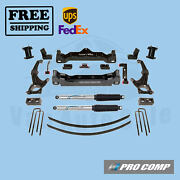 Pro Comp Lift Kit 6 W/fr Spacers/rear Pro Runner Shocks For Toyota Tacoma 16-19