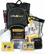 Emergency Survival Pack First Aid Kit Bug Out Bag Mini Camping Molle Prepper New