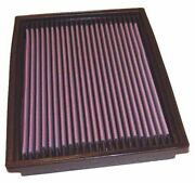 Kandn 33-2627 For Ford Escort Mk 6 Performance Washable Drop In Panel Air Filter