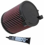 Kandn E-2014 For Seat Toledo Mk 3 Performance Washable Drop In Panel Air Filter