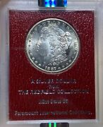 1887-s Ngc Ms63 The Redfield Collection Morgan Silver Dollar