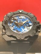 Rsw Diving Tool 300m Swiss Automatic Black 46mm Pvd Limited Edition Camouflage