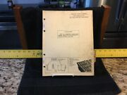 Vintage 1965 John Deere 70 Diesel Tractor Parts Catalog - Pc445 - Used Condition