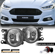 For 13-16 Ford Fusion 4f9z-15200-aa Direct Replacement Fog Lights Assembly Pair