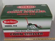 Vintage New Idea Two Row Pull Type 116 Corn Sheller No. 314 Toy Spec-cast Resin