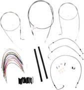 Burly Braided Stainless Steel Cable/brake Line Kit B30-1078