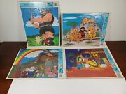 Promise Publishing Story Puzzle Childrens Jigsaw Bible Stories Lot Of 4