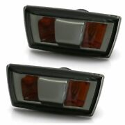 2 Repeater Vauxhall And Chevrolet Black Smoke Crystal