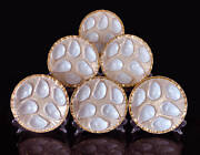 Minton Oyster Plate 1890 Gold English, Rare These Are A Future Investment