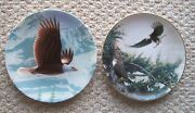 Bradford Exchange Plate Building For A New Generation And Knowles The Bald Eagle