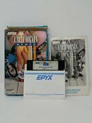 Epyx California Games Commodore 64/128 Complete Game On Floppy Disc Box Manual