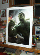 Marvel The Incredible Hulk Avengers Movie Large Poster