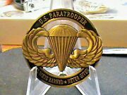 U.s.army Air Borne Paratrooperchallenge Coinalways Earnednever Given And .....