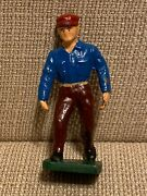 Vintage Britains Lionel Barclay Solid Lead Depot Section Hand Figure