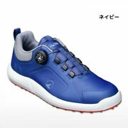 2020 Honma Golf Dial Athletic Spikeless Shoes Navy 25-28cm Artificial Leather