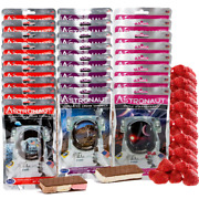 25 Pcs. Astronaut Space Food - Freeze Dried Strawberries And Ice Cream Sandwiches