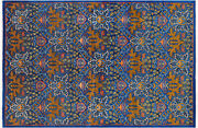 6and039 3 X 9and039 3 William Morris Hand Knotted Rug - Q4438