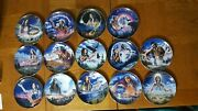 Franklin Mint/maiden Series/decorative Plates/collectibles/