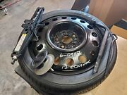 2010 Thru 2017 Chevy Equinox Terrain Spare Wheel Tire Donut 17 With Jack Tools