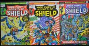 Marvel Nick Fury And His Agents Of Shield 1-3 - Fn Set
