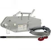 Prowinch 7040 Lbs. Lever Wire Rope Puller Hoist 65 Ft. Wire Rope